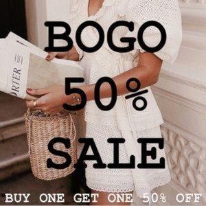 🚨 BOGO 50% Off Sale 🚨
